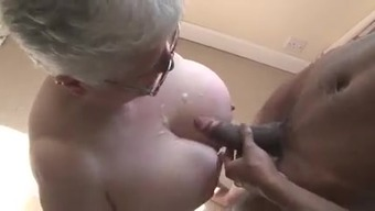 Major Boobied Gran Will Try Black Chocolate-Flavored