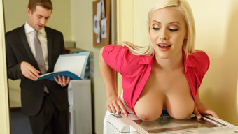 Kylie Web Page &Amp; Danny D In Unsafe For Work Reasons - Brazzers