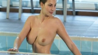 Hdtv - Passion-Hd Attractive Connie Hauler Slender Dips With The Use Of Great Prick