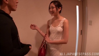 A New Japanese People Future Bride Offers The Fuck Of Her Life On The Wedding Ceremony Night