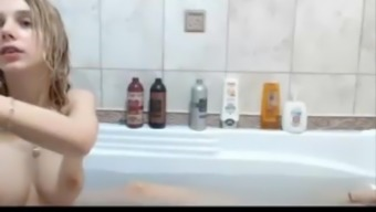 A Pair Of Young Lesbians Playing Dildos On Bathroom Sexowebcam.Via The Internet