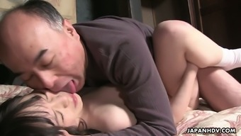 Mai Shimizu Serves As A Warm Far Eastern Nympho And She Or He Comes Complete With An Fascination For Older Guys