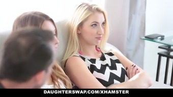 Daughterswap - Assortment Of Sizzling Teens Fucking Perverted Moms And Dads