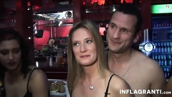 Team Of Attractive Swingers Get Their Addict On