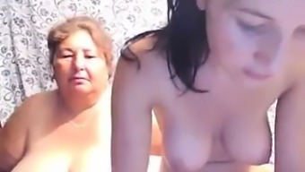 Natural Environment Mature Lady And Cute Younger Toddler Uncover Their Angles On