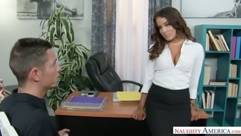 Beautiful Chief Mila Marx Seems This Guy Into Her Personal Love-Making Thing