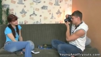 Young Rectum Tryouts - Stefany Is Learning Anal Passage Sex