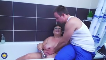 Chubby Mature Mothers Fucking Lucky Sons