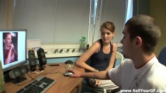 Naughty Damsel Is Fucked As Her Guy Designer Watches
