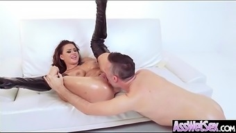 Immersed Rectum Sexual Intercourse On Masking Tape By Using Large Plus Size Stupid Ass Attractive Date (Eva Angelina) Vid-21