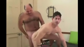 Old Vs Young Gay Uncle Spanked The Guy Like A Wolf