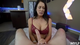 Nothing Can Please Horny Reagan Foxx As A Strong Penis In Her Mouth