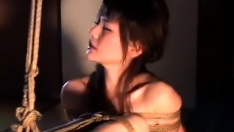 Pretty Asian Girl With Big Boobs Gets Tied Up And Suspended