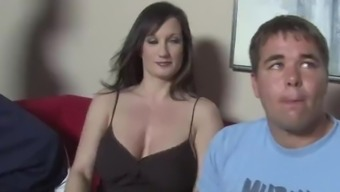 Busty Mom Tris Interracial Sex In Front Of Her Son