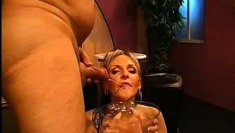 Chick Gets Her Muff Drilled Along With Hard Dollhouse Fucking