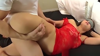 Horny Son Cums In Stepmom'S Mouth