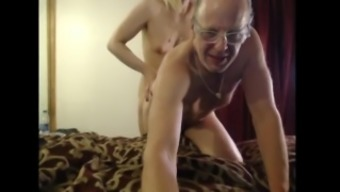 Young Tranny And Old Man