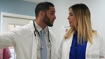 Horny Doctor Kimmy Granger, Wants To Fuck A Dude During The Visit