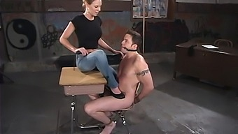 Submissive Dude Gets Tied Up And Humiliated By Audrey Leigh