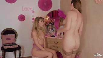 Sovereign Syre And Ivy Wolfe In Stockings Having Lesbian Sex